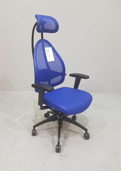 Bürodrehstuhl - Open Art Deluxe, blau