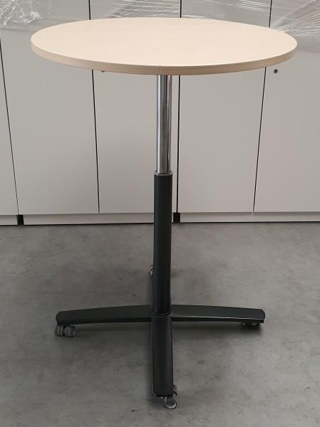 Steelcase - Besprechungst-Steh-Sitz D 80 cm ahorn