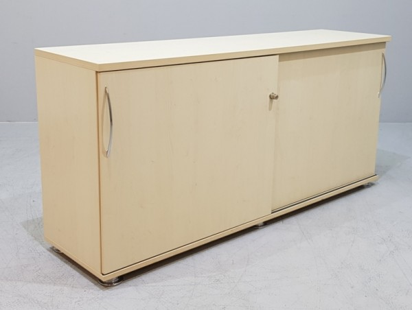 K & N - Schiebetürenschrank 2 OH, B 160 cm ahorn