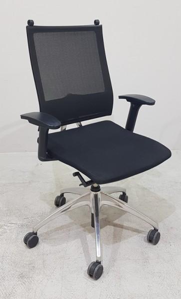 Sedus - Bürodrehstuhl Netzrücken, schwarz