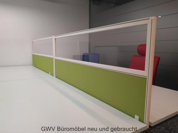 Sichtblende / Tischaufsatzelement B 160 cm