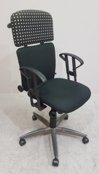 Zeitler - Bürodrehstuhl mit hoher Rückenlehne