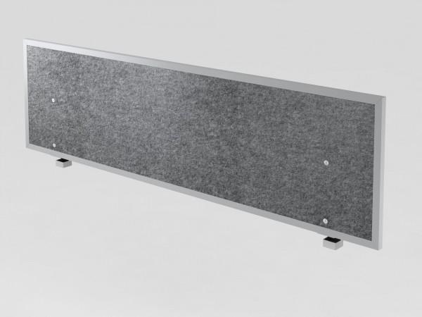 Akustik-Trennwand B 160 cm, grau o.R.