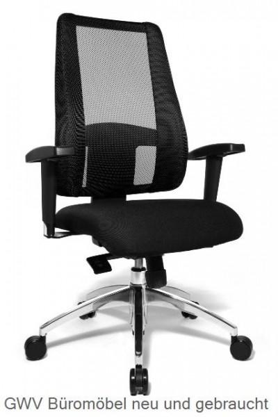 Express 022 - Bürodrehstuhl mit Netzrücken schwarz