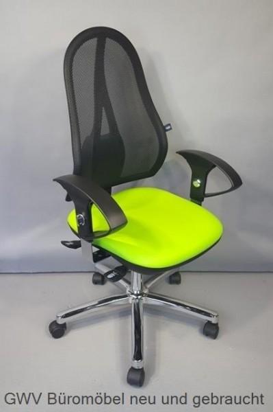 Bürodrehstuhl - Open Point SY, grün/ schwarz