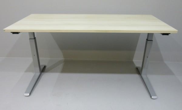 FM - Steh-Sitz-Schreibtisch 160 x 80 cm, akazie