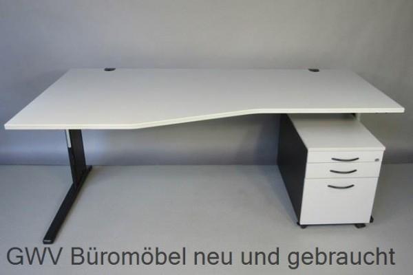 RTR - FF- Schreibtisch (L) + Rollcontainer