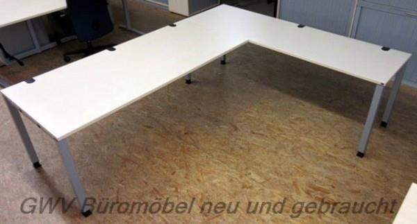 K & N - Winkelschreibtisch 240 x 200 cm, ahorn