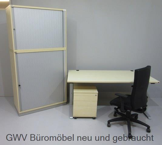 SET 4-teilig- Tisch 180 cm + Cont + SB-5OH + Stuhl