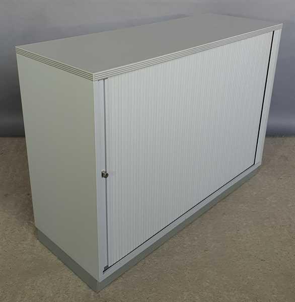 CEKA - Querrolloschrank 2 OH, B 120 cm grau/sahara