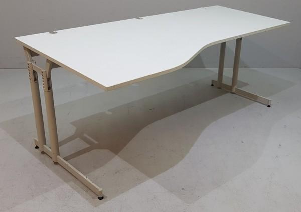 Lorbeer - Freiform - Schreibtisch 200 cm, Links