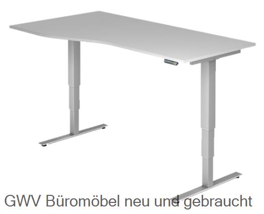 FF- Steh- Sitz- Schreibtisch 180 cm (memory)