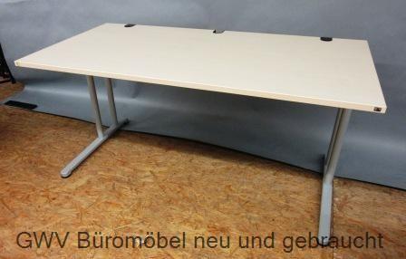 K & N - Schreibtisch 160 cm, ahorn