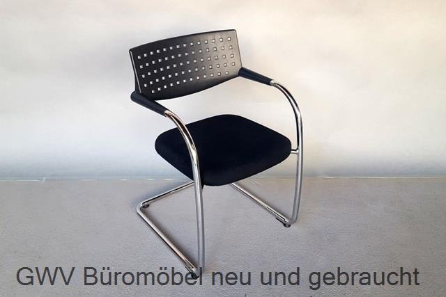 vitra visa vis freischwinger leder optin kunstleder. Black Bedroom Furniture Sets. Home Design Ideas