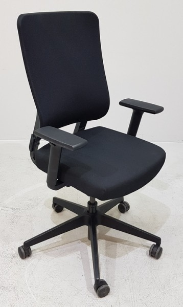 Viasit - Bürodrehstuhl schwarz