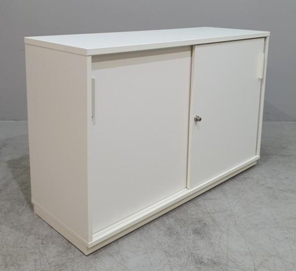Febrü - Sideboard 2 OH, B 120 cm weiß