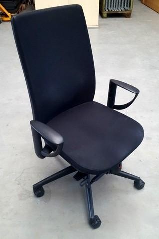 K & N - Bürodrehstuhl schwarz