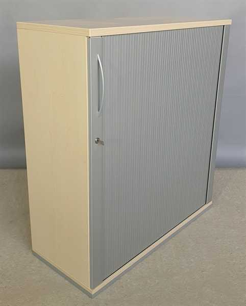 K & N - Querrolloschrank 3 OH, B 100 cm ahorn