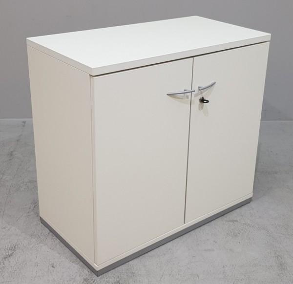 K & N - Sideboard 2 OH, B 80 cm, weiß