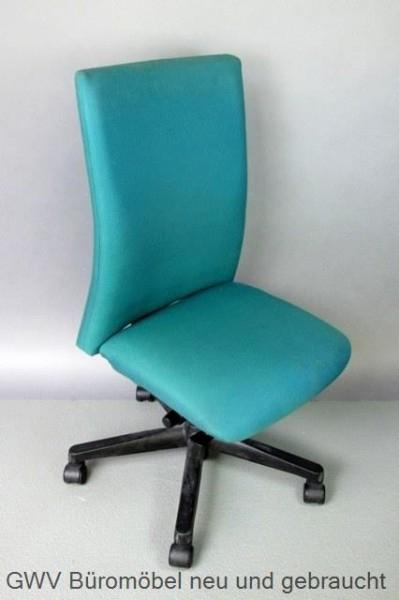 Comforto - Bürodrehstuhl grün