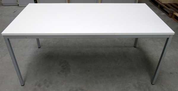 K & N - Schreibtisch 160 x 80 cm, weiß