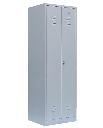 Stahl- Besen- / Putzmittel- Schrank, B 60 cm