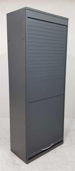 K & N - Rolloschrank B 80 cm anthrazit