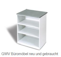 Verkaufs- Theken- Regal B 80 cm, grau
