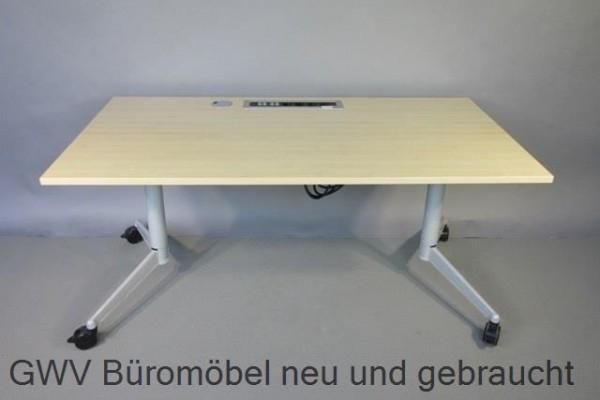 Werndl - mobiler Klapptisch 160 cm, ahorn