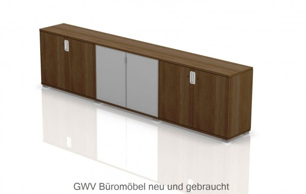 TAK - Chefzimmer Sideboard, 3-teilig, 2 OH