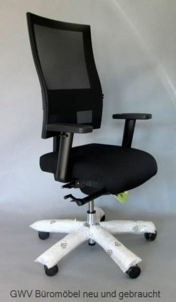 Bürodrehstuhl - Sitness Profi 200, schwarz