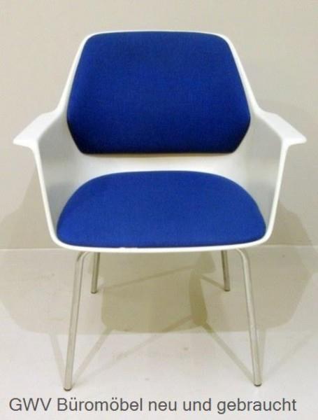 Wilkhan - Besucherstuhl blau