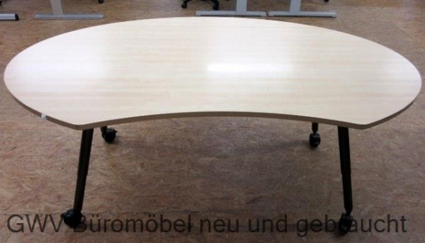 Werndl - Nierentisch 220 cm, ahorn - MEMO