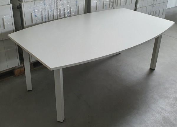 Febrü - Konferenztisch 200 cm, weiß