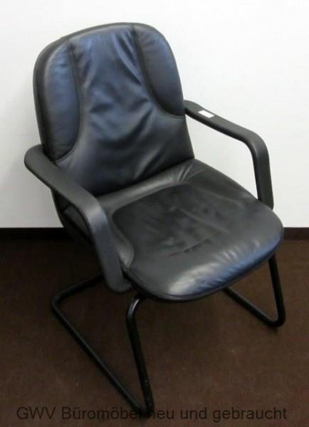 Drabert - Besucherstuhl schwarz
