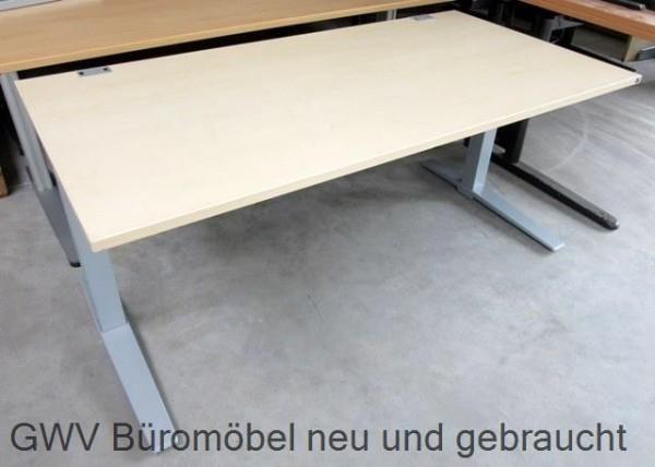 K & N - Schreibtisch 180 cm, ahorn