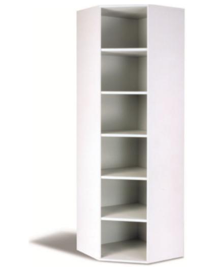 Eck- Regal 6 OH, B 70 cm grau