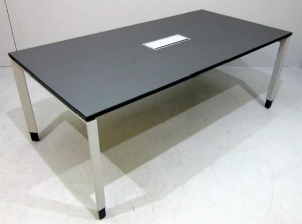 Steelcase - Besprechungstisch B 200 cm, anthrazit