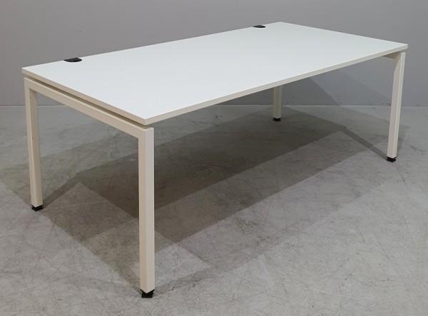 Febrü - Schreibtisch/Trento 180 x 90 cm, weiß