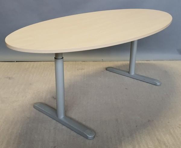 CEKA - Besprechungstisch oval 200 cm, ahorn