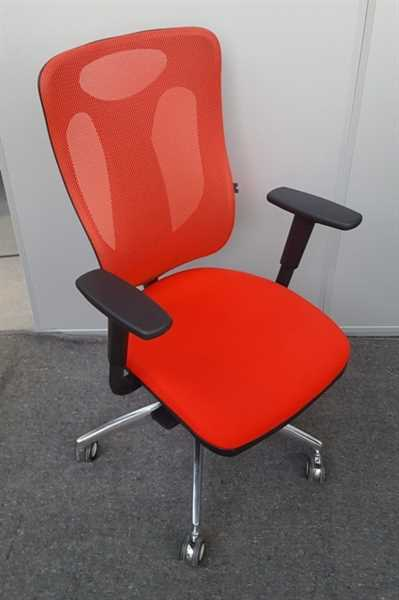 Bürodrehstuhl - Net Pro 110, rot