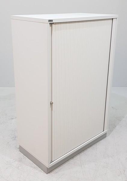 CEKA - Querrolloschrank 3 OH, B 80 cm lichtgrau