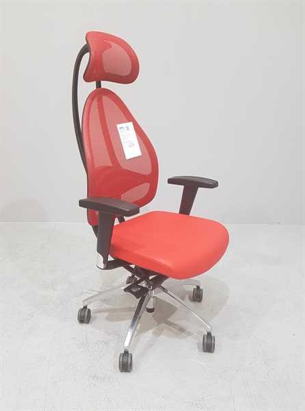 Bürodrehstuhl - Open Art Deluxe, rot
