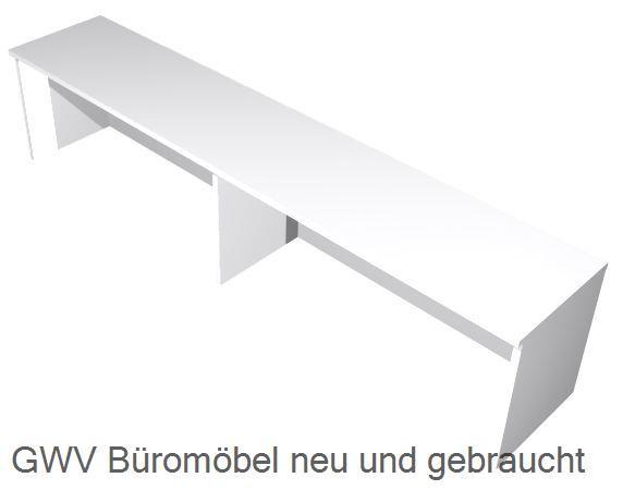 Thekenaufsatz für Schreibtische B 180 cm, grau