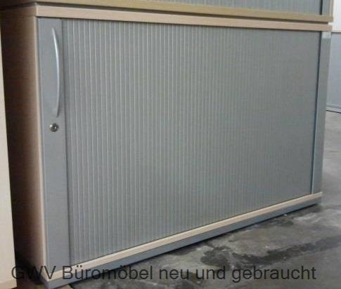 K & N - Querrolloschrank 2 OH, B 100 cm ahorn