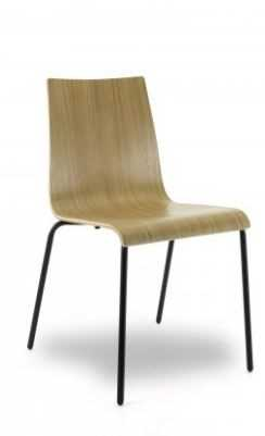 Holzschalenstuhl - Sitzschale Eiche furnier