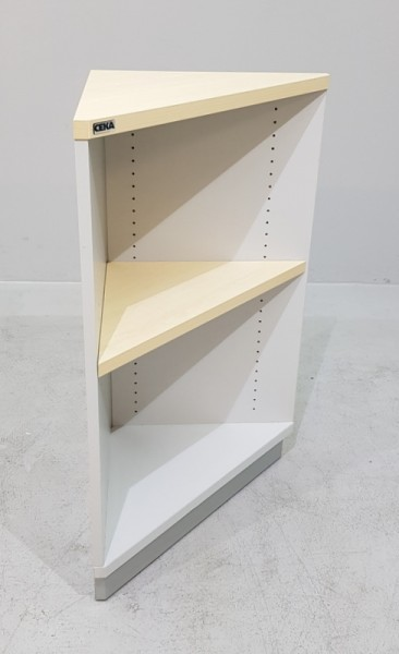 CEKA - Eckregal 2 OH, B 63 cm, ahorn