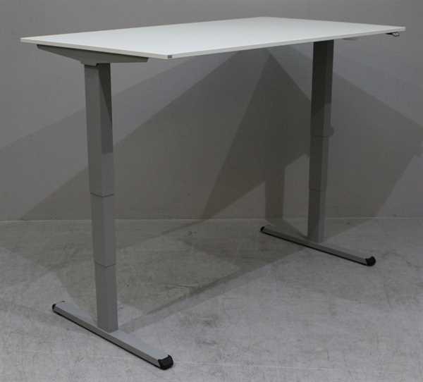 Sedus - Steh- Sitz- Schreibtisch 160 x 90 cm, weiß