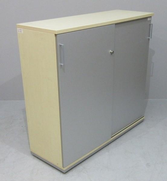 K & N - Schiebetürenschrank 6 OH, B 120 cm ahorn