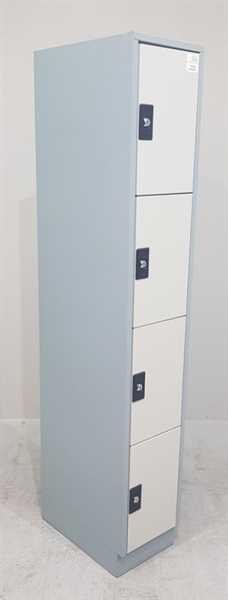 Fächer- /Schließfachschrank /Spind 180x30 cm